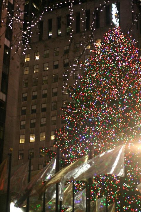 NYC クリスマスツリー@ロックフェラーセンター_d0004651_154244.jpg