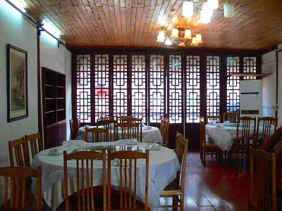中国出張2010年12月-週末旅行-第一日目-朱家角鎮(III) 廊橋に繋がるレストランで昼食_c0153302_16392685.jpg