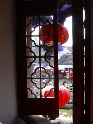 中国出張2010年12月-週末旅行-第一日目-朱家角鎮(III) 廊橋に繋がるレストランで昼食_c0153302_16394469.jpg