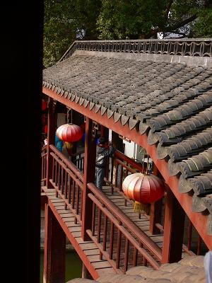 中国出張2010年12月-週末旅行-第一日目-朱家角鎮(III) 廊橋に繋がるレストランで昼食_c0153302_16412814.jpg