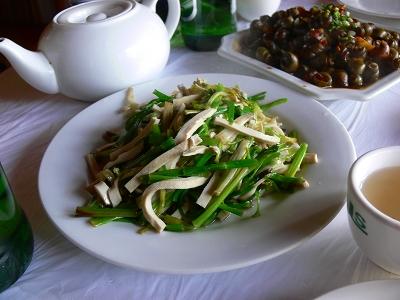 中国出張2010年12月-週末旅行-第一日目-朱家角鎮(III) 廊橋に繋がるレストランで昼食_c0153302_16451340.jpg