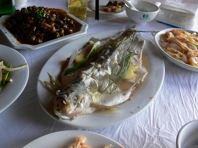 中国出張2010年12月-週末旅行-第一日目-朱家角鎮(III) 廊橋に繋がるレストランで昼食_c0153302_16453741.jpg