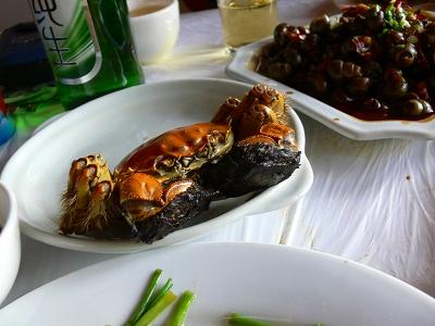 中国出張2010年12月-週末旅行-第一日目-朱家角鎮(III) 廊橋に繋がるレストランで昼食_c0153302_1646093.jpg