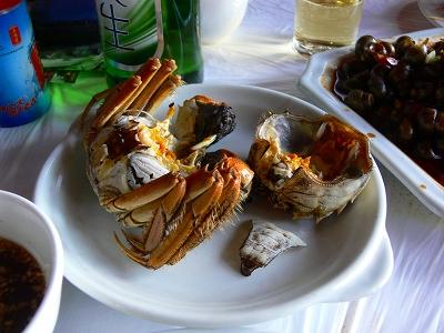 中国出張2010年12月-週末旅行-第一日目-朱家角鎮(III) 廊橋に繋がるレストランで昼食_c0153302_1646877.jpg