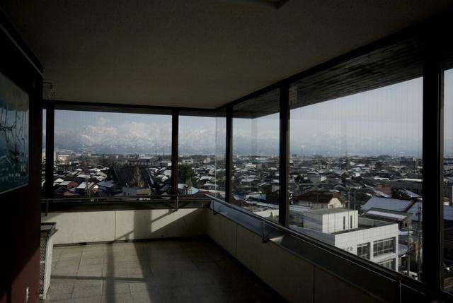 自転車の 富山 レール 自転車 : 785.2 富山港展望台から望む立山 ...