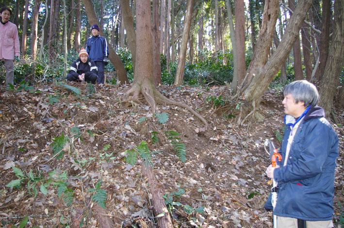 30名参加、六国見山森林公園の手入れスタート(1・22)_c0014967_19364156.jpg