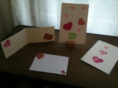 バレンタインのはんこの講習会in backe 605_c0154210_2021164.jpg