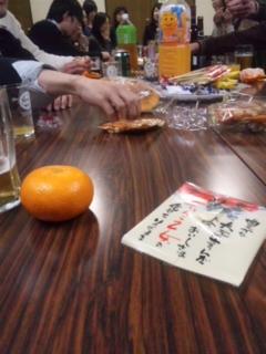 新年会〜_e0114246_1465773.jpg