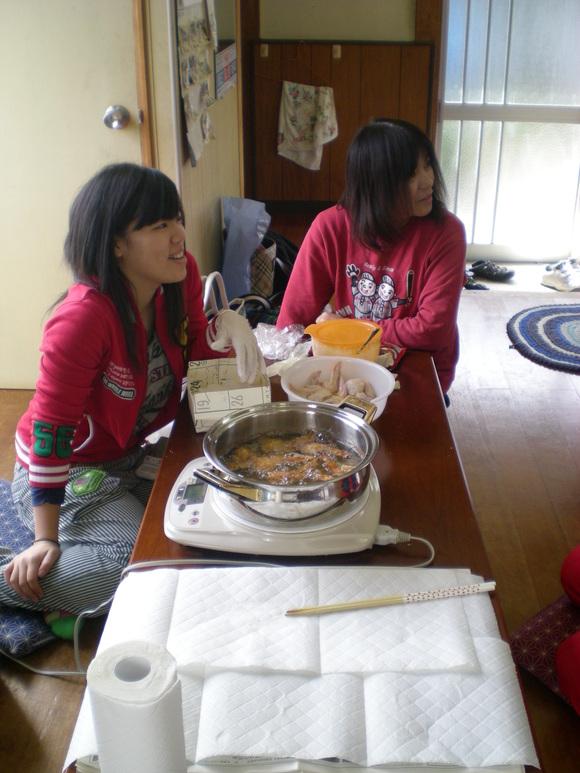 神楽練習&新年会♪_b0115751_1611430.jpg