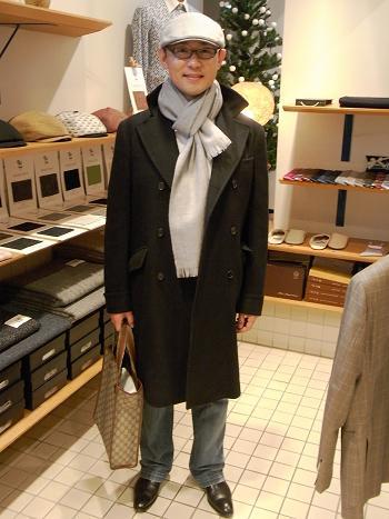 """大雪~厳冬なんか """"へっちゃらさ"""" コートもジャケットも""""気分""""も~軽やかに~編_c0177259_14434149.jpg"""