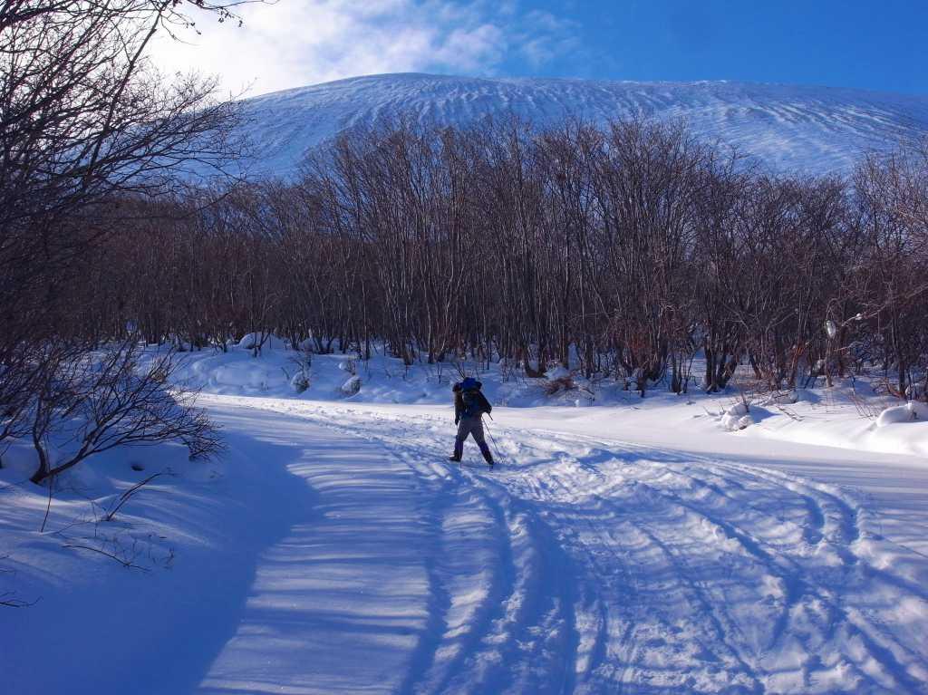 1月23日、樽前山_f0138096_1764467.jpg