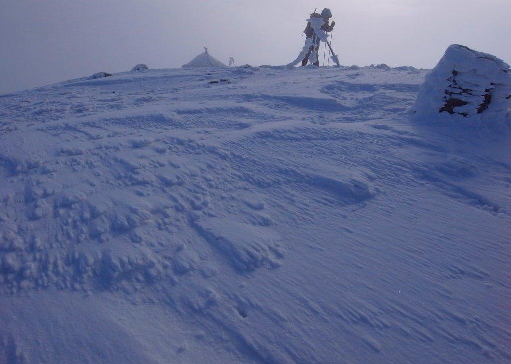 1月23日、樽前山_f0138096_1795535.jpg