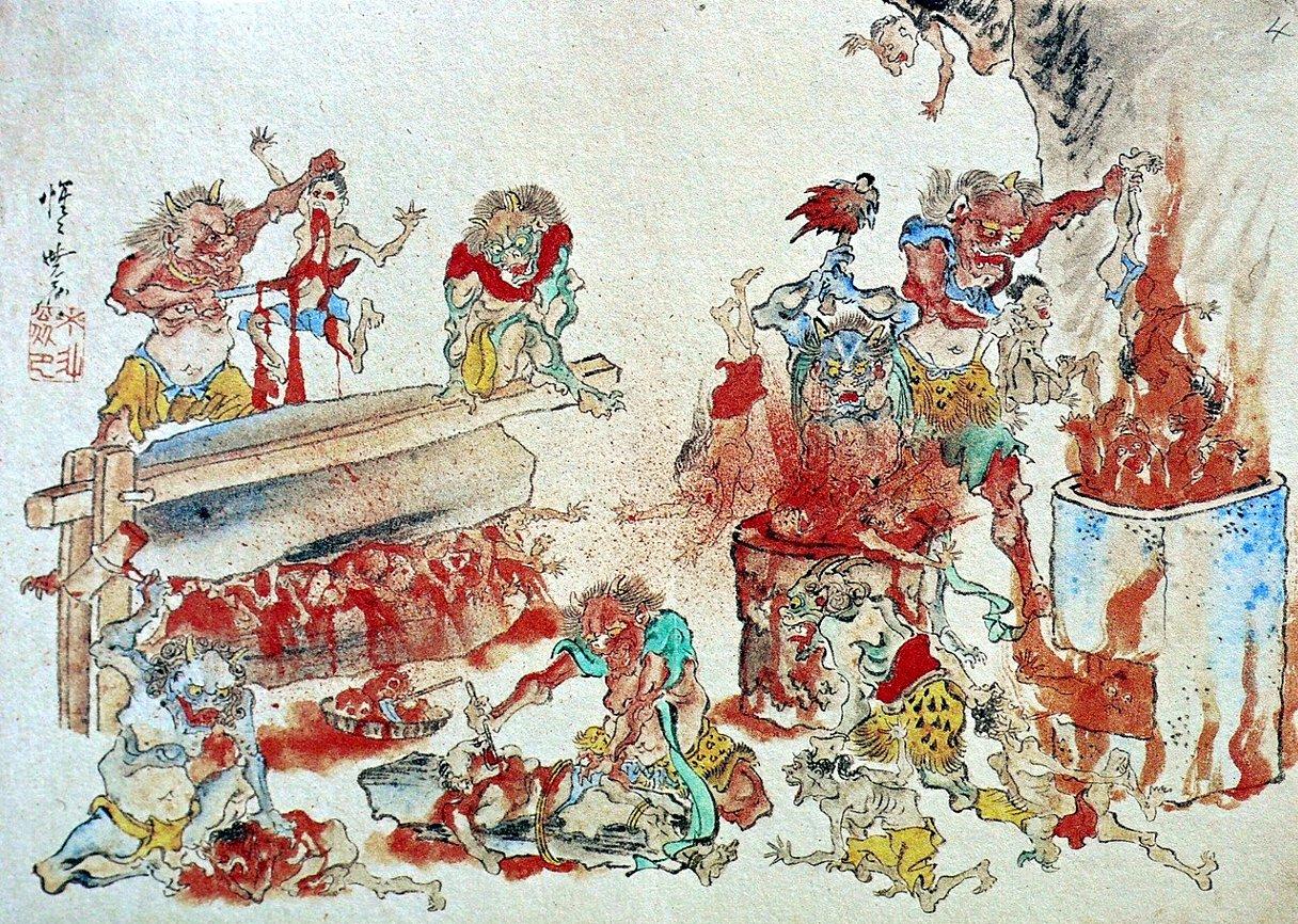 Рисунки японских пыток 1 фотография