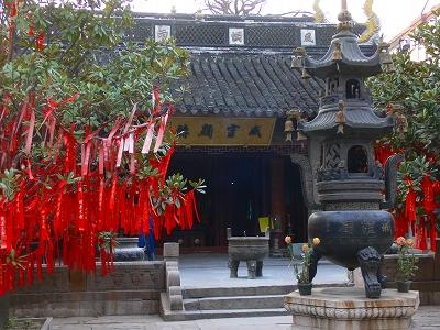 中国出張2010年12月-週末旅行-第一日目-朱家角鎮(IV) 円津禅院、城隍廟、北大街 _c0153302_0104073.jpg