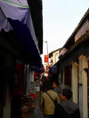 中国出張2010年12月-週末旅行-第一日目-朱家角鎮(IV) 円津禅院、城隍廟、北大街 _c0153302_054222.jpg