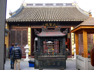中国出張2010年12月-週末旅行-第一日目-朱家角鎮(IV) 円津禅院、城隍廟、北大街 _c0153302_062562.jpg