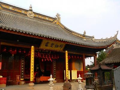 中国出張2010年12月-週末旅行-第一日目-朱家角鎮(IV) 円津禅院、城隍廟、北大街 _c0153302_075388.jpg