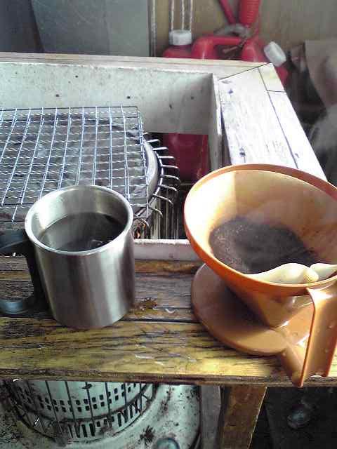 山頂モーニングコーヒー_c0183104_9552756.jpg