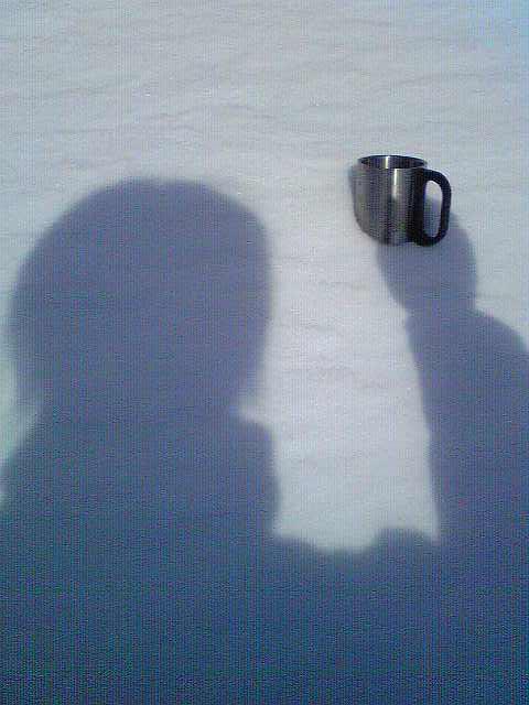 山頂モーニングコーヒー_c0183104_9554994.jpg