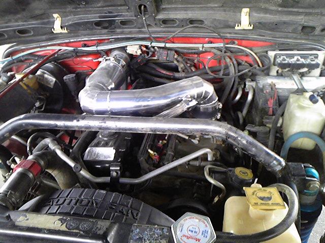 1月24日 リンエイTJエンジン交換 その2_d0001708_22345779.jpg