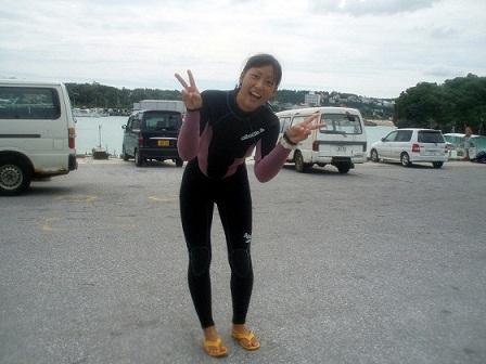 沖縄ボート体験ダイビング!_a0156273_1734319.jpg
