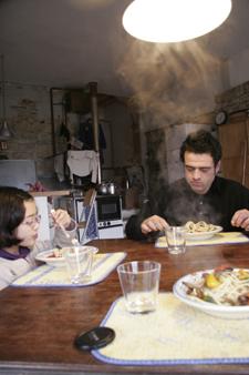 真冬に食べる夏野菜のパスタ_f0106597_22455740.jpg