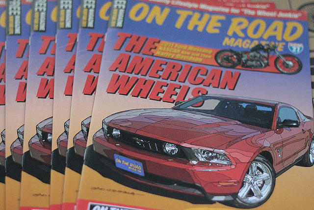 ON THE ROAD MAGAZINE 最新号入荷_e0126901_11231012.jpg