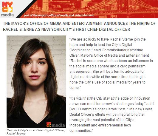 情報のソーシャル化やデジタル化に向けて、NY市が初代チーフ・デジタル・オフィサーを任命!!!_b0007805_13171726.jpg