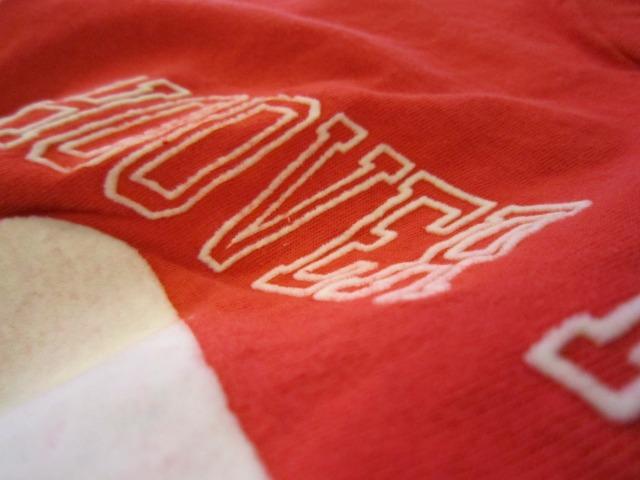 季節はずれのTシャツ 上玉カレッジ2枚!_a0182112_1443629.jpg