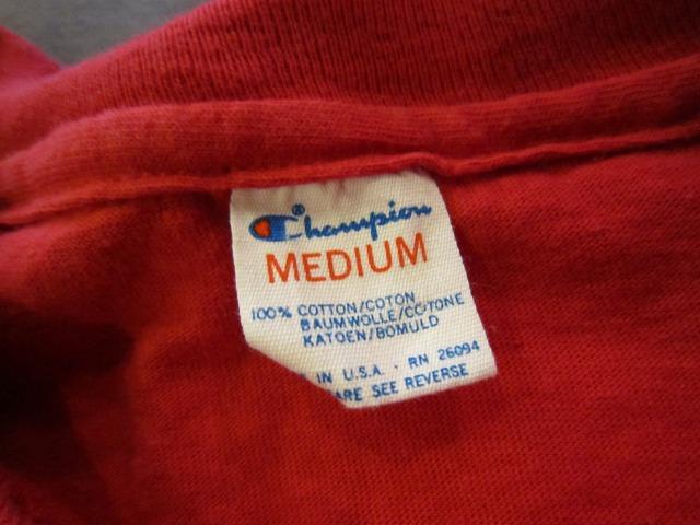 季節はずれのTシャツ 上玉カレッジ2枚!_a0182112_14442588.jpg