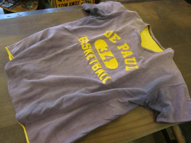 季節はずれのTシャツ 上玉カレッジ2枚!_a0182112_1458428.jpg