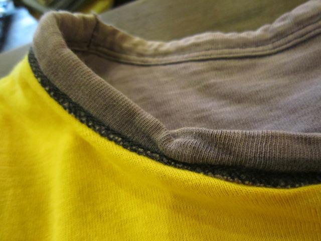 季節はずれのTシャツ 上玉カレッジ2枚!_a0182112_15261556.jpg