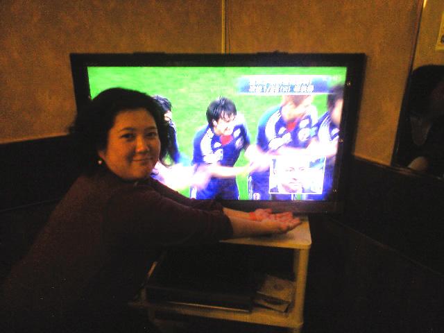 1月21日(金)サッカーアジアカップ準々決勝観戦_b0206845_1482832.jpg
