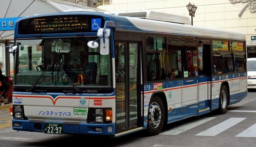 京成バス LKG-LV234N3 : 研究所...