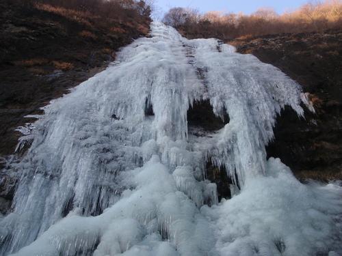 アイスクライミング IN 千波の滝_c0206900_0454229.jpg