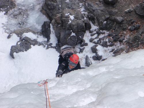 アイスクライミング IN 千波の滝_c0206900_0531734.jpg
