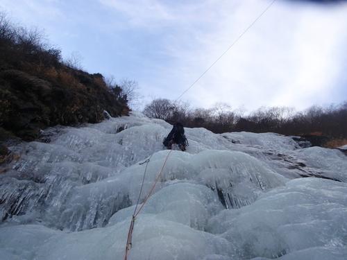 アイスクライミング IN 千波の滝_c0206900_055145.jpg