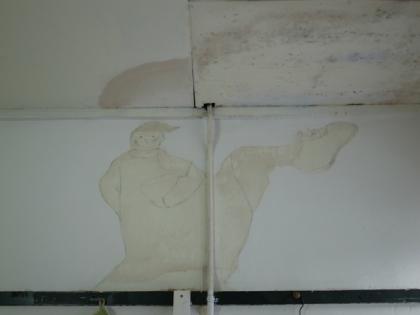 アノニマス賛歌 アパートの壁の絵と「祝婚歌」のはなし_c0069903_1138316.jpg