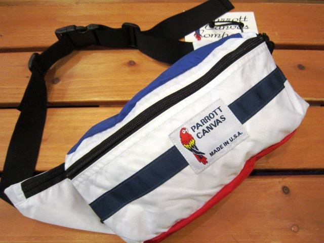 "PARROTT CANVAS ""FANNY PACK\"" 入荷!_f0191324_240563.jpg"