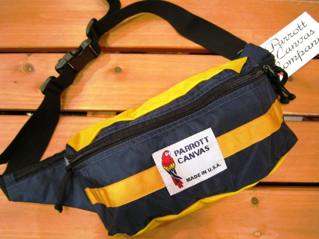 "PARROTT CANVAS ""FANNY PACK\"" 入荷!_f0191324_2411830.jpg"
