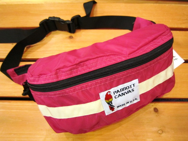 "PARROTT CANVAS ""FANNY PACK\"" 入荷!_f0191324_2413559.jpg"