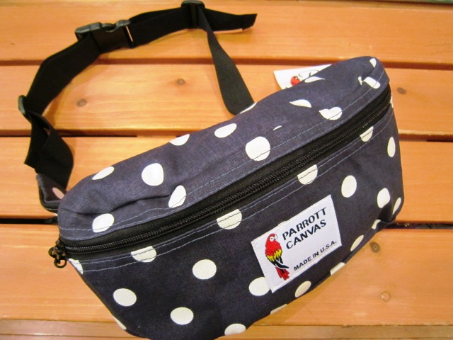 "PARROTT CANVAS ""FANNY PACK\"" 入荷!_f0191324_2422229.jpg"