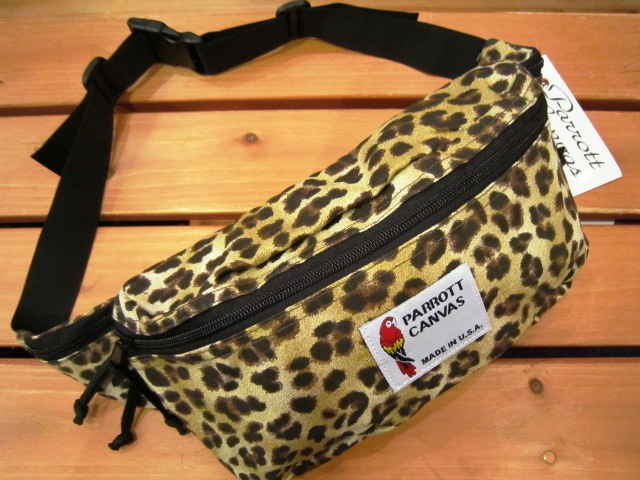 "PARROTT CANVAS ""FANNY PACK\"" 入荷!_f0191324_2423552.jpg"