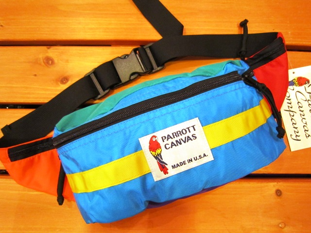 "PARROTT CANVAS ""FANNY PACK\"" 入荷!_f0191324_242490.jpg"