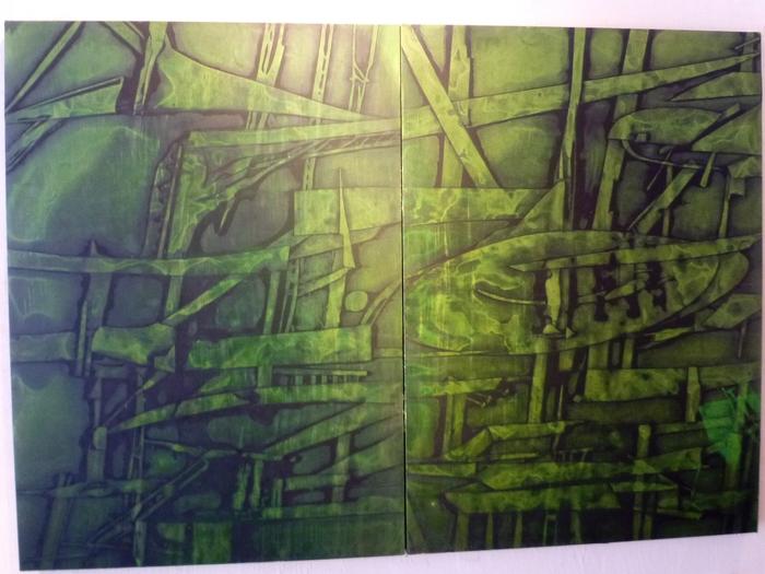 1441)終了「石井誠・展 『LIMIT #1:痕跡』」 ト・オン・カフエ 1月11日(火)~1月23日(日)_f0126829_23212079.jpg