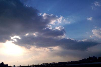 夕暮れ 東・西_b0195242_21443573.jpg