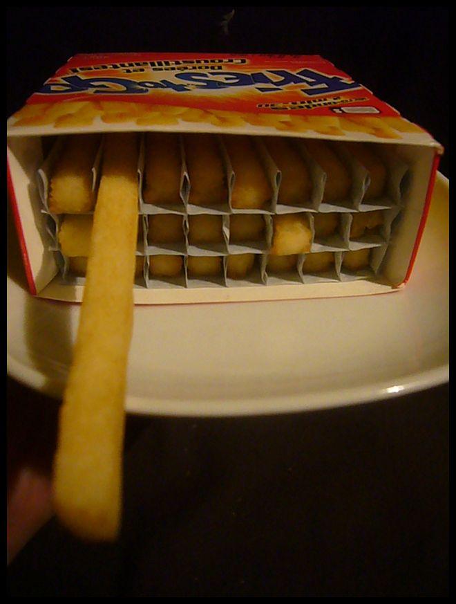 【冷凍食品】電子レンジでフリッツ(フライドポテト)Paris_a0014299_17292037.jpg