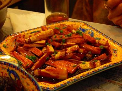 中国出張2010年12月-週末旅行-第一日目-西塘鎮(I) 素敵な夜の景色と夕食_c0153302_23525120.jpg