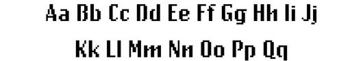 ニューヨーク近代美術館の新コレクションは、23種のデジタル・フォント?!_b0007805_4131980.jpg