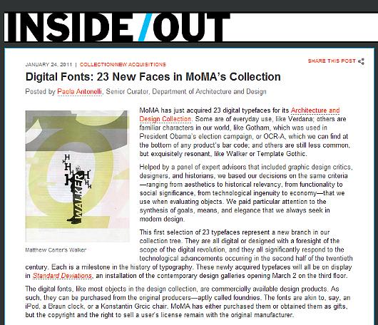 ニューヨーク近代美術館の新コレクションは、23種のデジタル・フォント?!_b0007805_4205338.jpg